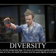 jeff winger motivational - diversity