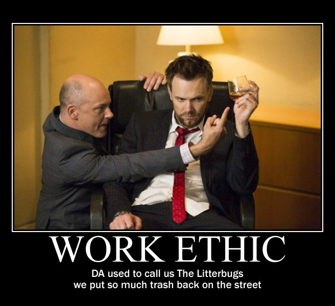 jeff winger motivational - work ethic