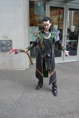Loki causing mischief in Seattle.