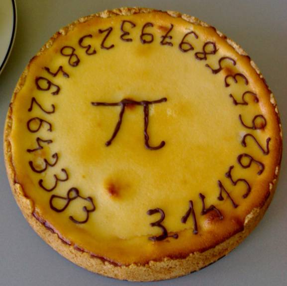 Who ever made this Pi pie is a NEERRRRDDDD!