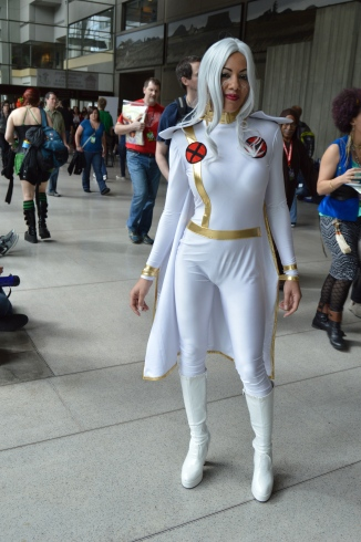 Storm Cosplay at ECCC.