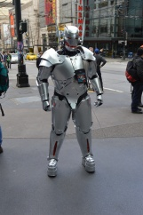 Ultron takes the streets of Seattle.