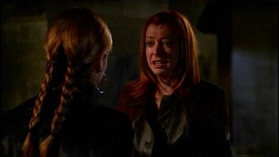 Willow begs for Buffy's help