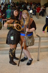 Xena and Gabrielle. You can find out more at facebook.com/disconinjacosplay