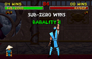 mortal kombat features babality