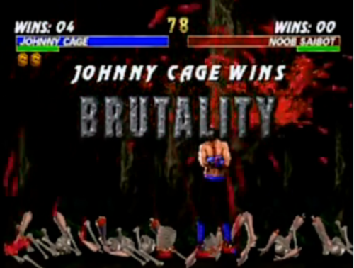 mortal kombat features brutalities
