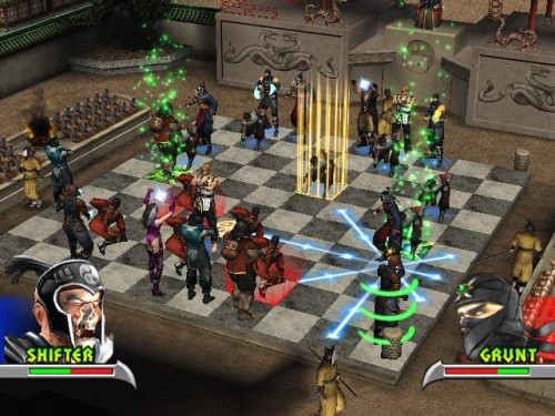 mortal kombat features chess kombat