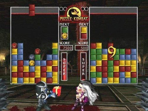 mortal kombat features puzzle kombat
