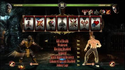mortal kombat features test your luck