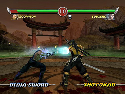 mortal kombat features weapons