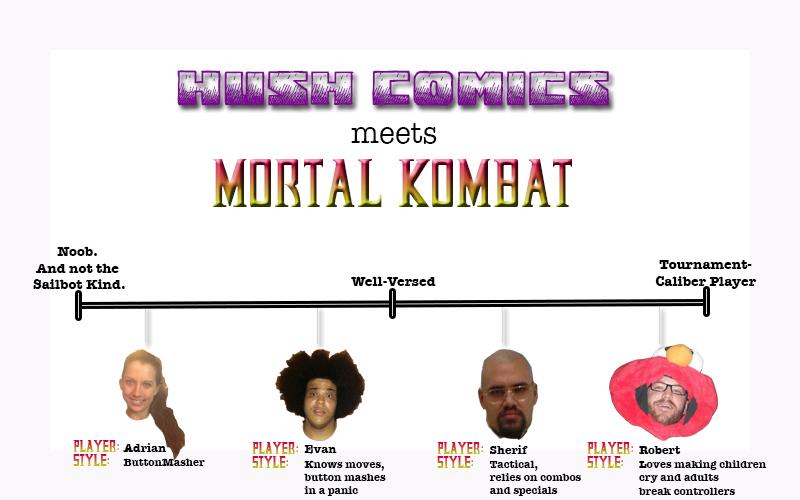 Mortal Kombat Meets Hush Comics