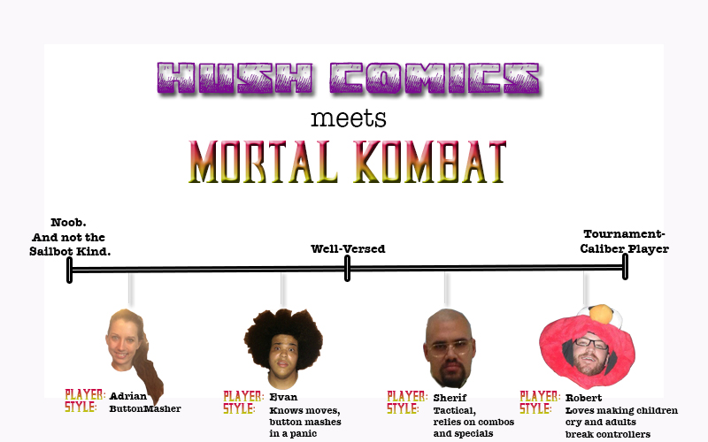 The Kolors of Kombat: Our Favorite MKCharacters