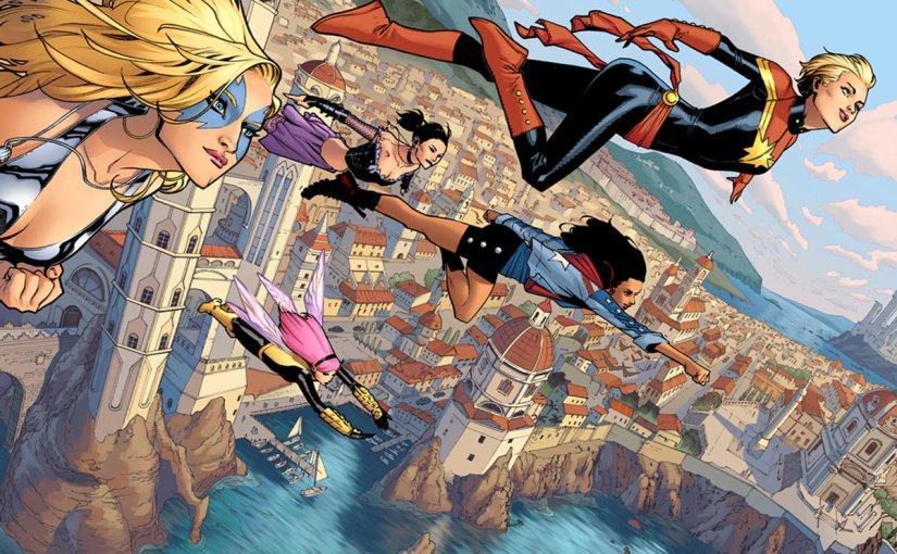 Meet Marvel Comics'A-Force