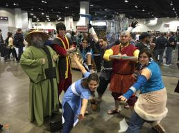 Avatar Group Cosplay at Denver Comic Con 2015