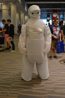 Baymax Cosplay at Denver Comic Con 2015