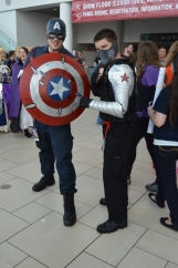 Captain America and Bucky Barnes