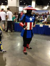 Captain America Raiden Cosplay at Denver Comic Con 2015