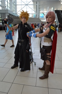 Cloud and Lightning Cosplay at Denver Comic Con 2015