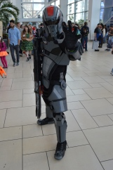Commander Shepard Cosplay at Denver Comic Con 2015