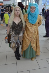 Daenerys Targaryen and Olenna Tyrell Cosplay at Denver Comic Con 2015