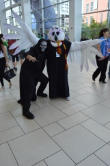 Dementor and Hedwig Cosplay at Denver Comic Con 2015