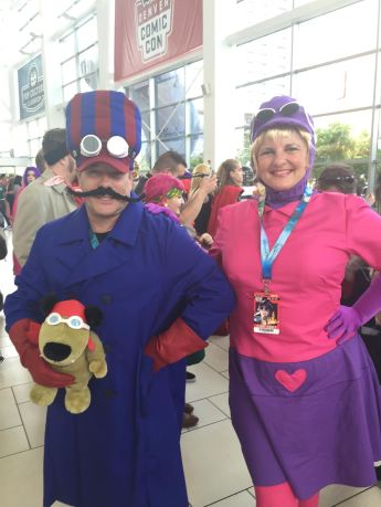 Dick Dastardly, Penelope Pitstop, and Muttly