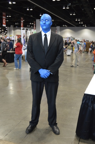 Dr. Manhattan Cosplay at Denver Comic Con 2015