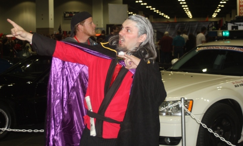 Dr. Orpheus Cosplay at Denver Comic Con 2015