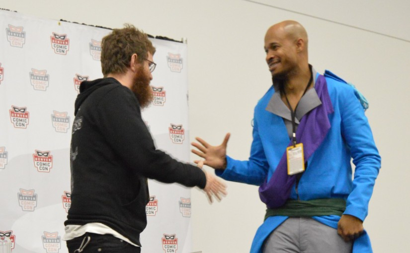 Denver Comic Con 2015: A Dynamic Workshop with the Dynamic Duo