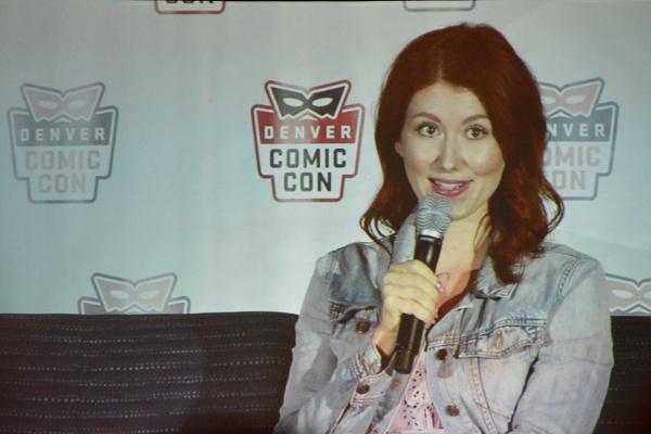 Denver Comic Con - Jewel Staite