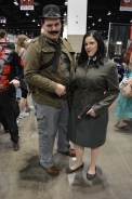 Dum Dum Dougan and Agent Peggy Carter