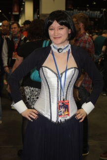 Elizabeth Cosplay from Bioshock Infinite at Denver Comic Con 2015