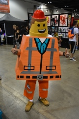 Emmett Cosplay at Denver Comic Con 2015