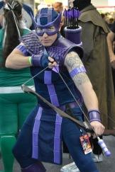 Hawkeye Cosplay by Rogue Mountain Cosplay!