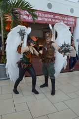 Hawkgirl and Hawkman Cosplay at Denver Comic Con 2015