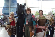 How to Train Your Dragon Cosplay at Denver Comic Con 2015