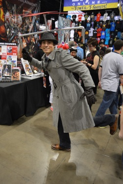 Inspector Gadget Cosplay at Denver Comic Con 2015