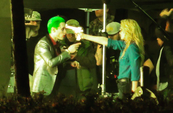 Jared Leto's Joker Photos On the Set of Suicide Squad
