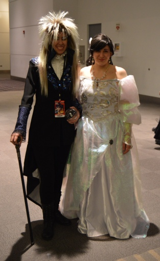 Jareth and Sarah Cosplay at Denver Comic Con 2015