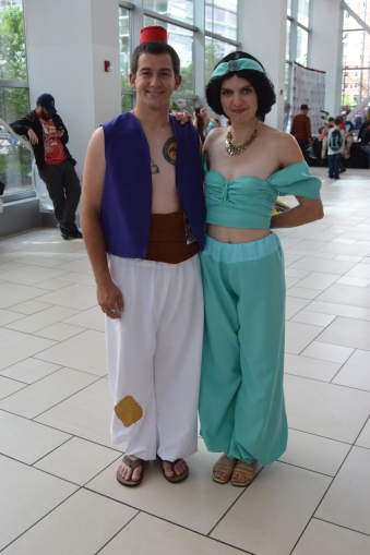 Jasmine and Aladdin Cosplay at Denver Comic Con 2015