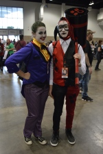 Joker and Harley Quinn Cosplay at Denver Comic Con 2015