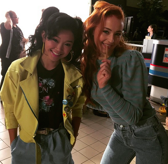 Jubilee and Jean Grey