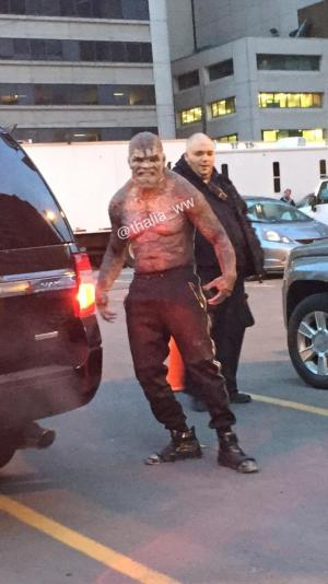 Stoked to see the full costume of #KillerCroc.You won't be ready for this.Can't wait for you all to see #SuicideSquad