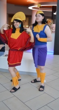Kuzco and Kronk Cosplay at Denver Comic Con 2015