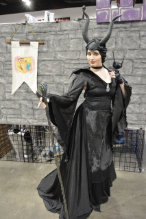 Maleficent Cosplay at Denver Comic Con 2015