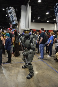 Master Chief Cosplay at Denver Comic Con 2015