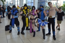 Mortal Kombat Group Cosplay at Denver Comic Con 2015