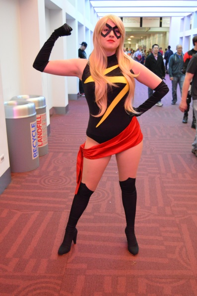 Ms. Marvel Cosplay at Denver Comic Con 2015