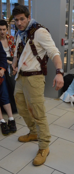 Nathan Drake Cosplay at Denver Comic Con 2015