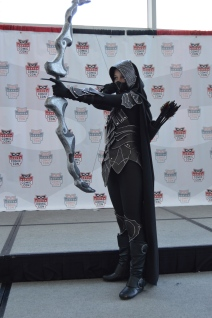 Nightingale from Sky Rim Cosplay at Denver Comic Con 2015